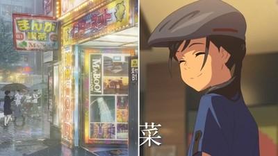 (上)檸檬作者實地走訪《天氣之子》場景,秒懂電影背後秘密的城市隱藏