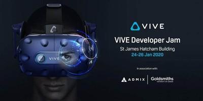 宏達電攜手倫敦大學金匠學院與Admix 「倫敦VIVE開發者大賽」月底開跑