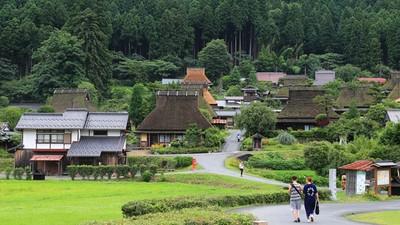 不用人擠人也能賞合掌村!京都秘境「美山町」 必看雪燈廊點燈