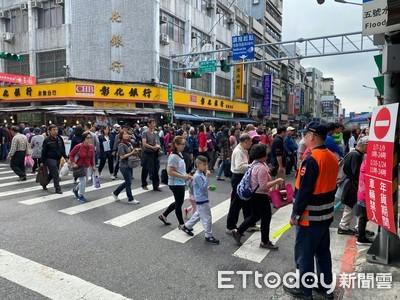 迪化商圈年貨大街開跑 交通疏導「4原則」