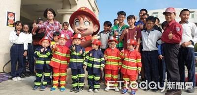 台南學甲彩繪消防寶寶