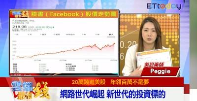 影/網路世代崛起 美股投資達人推薦首選FB、Google