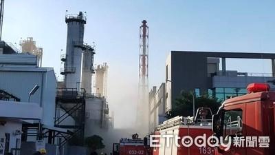 林園信昌工廠火警 民眾嚇喊:呼吸不過來