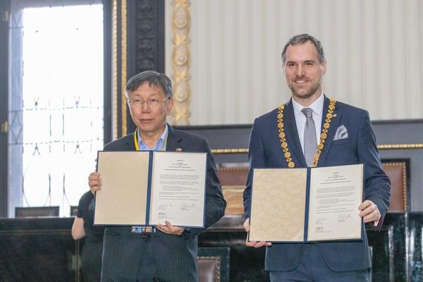 台北才簽姊妹市 上海解除與布拉格友城關係「粗暴干涉中國內政」