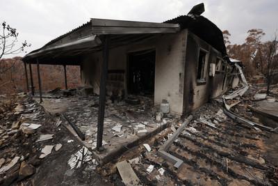 大火燒毀家園 澳洲男中樂透