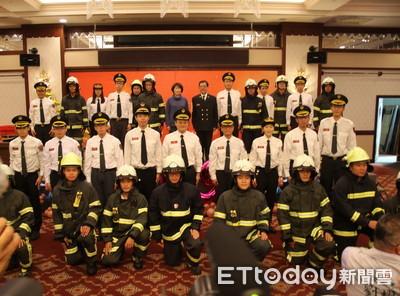 饒慶鈴允3年增補百位消防人力及裝備