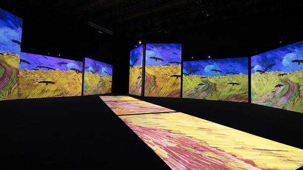 6公尺環繞巨幕魔幻空間!「再見梵谷」沉浸式光影體驗展 巡迴全球50城市來台