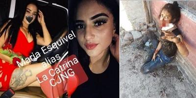 墨21歲女毒梟槍戰中彈 瀕死畫面曝光