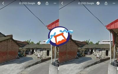 Google地圖沒更新!老家街景炸洋蔥