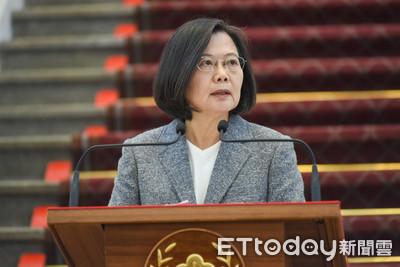 蔡英文籲對岸了解台灣人意志並檢討現行政策