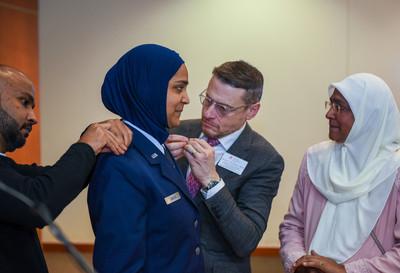 美空軍任命首位女穆斯林軍中牧師