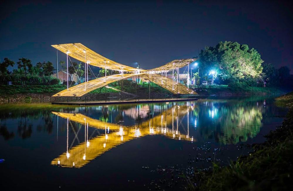 ▲2020月津港燈節。(圖/台南市政府文化局提供)