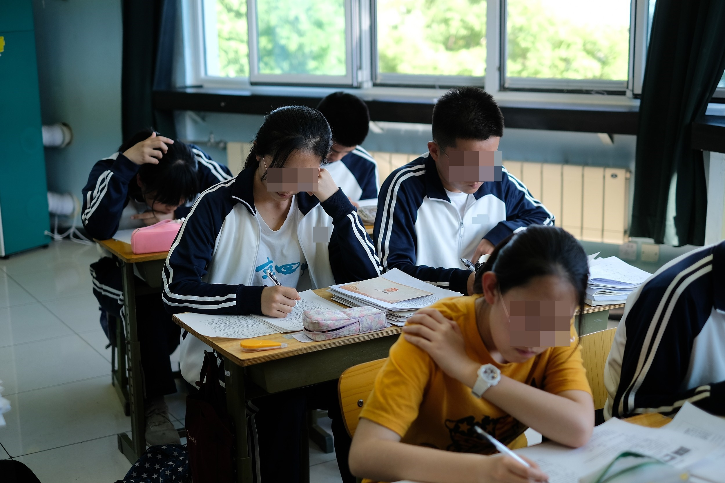 ▲▼2019年,正在準備高考的大陸學生們。考大學,念書,高中生示意圖。(圖/CFP)