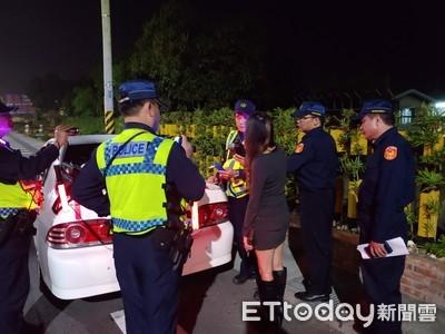 台南各分局同步加強擴大臨檢