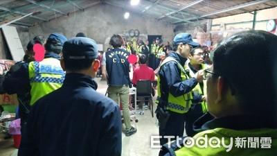 台南春安首日新化警破職業賭場