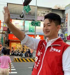 慶祝陳柏惟當選 請喝百杯柳橙綠