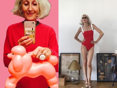 60歲法國模特兒Sylviane保養之道