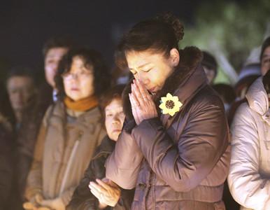 阪神大地震滿25週年 日人牽手哀悼