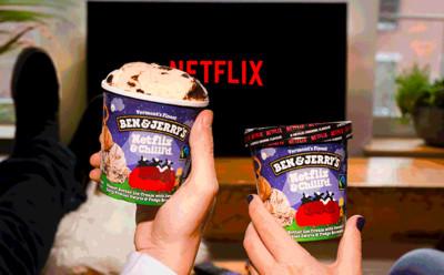 Netflix口味冰淇淋由罪惡原料組成