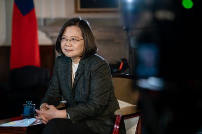 蔡英文:中國要坐下思考,準備好面對現實