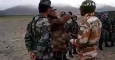 解放軍邊境怒嗆印度:不想打就滾 影片瘋傳