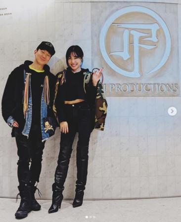 ▲▼林俊傑、Tiffany。(圖/翻攝自林俊傑IG)