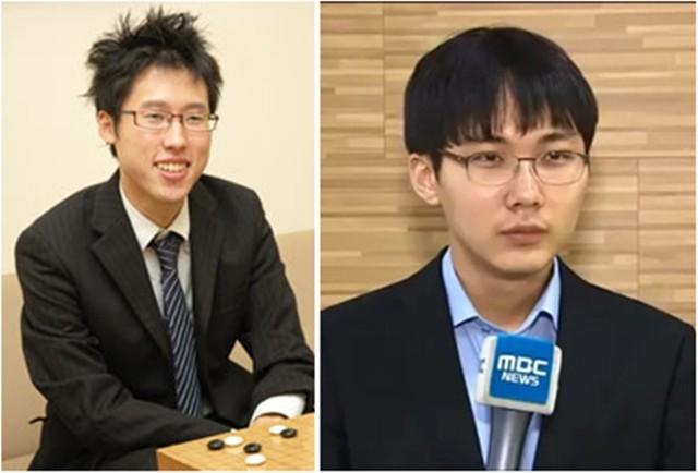 ▲井山(圖左)獲選代表日本參加國際棋戰「亞洲電視快棋賽」,並在冠軍戰打敗韓國選手朴廷桓九段(圖右)。(圖/翻攝自日本棋院官方網站、維基百科)
