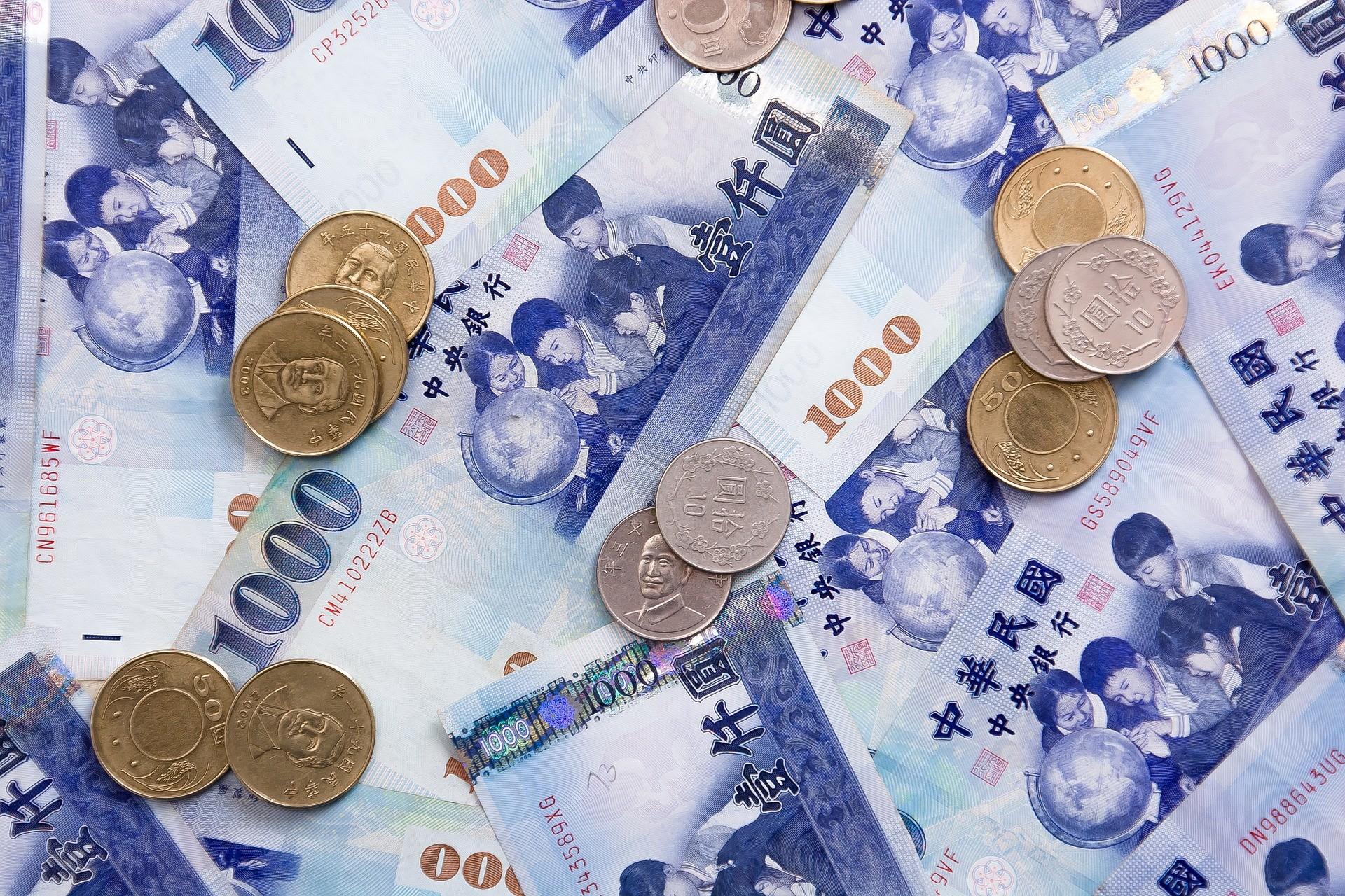 ▲新台幣,台幣,現金,鈔票,銅板,金錢,錢。(圖/pixabay)