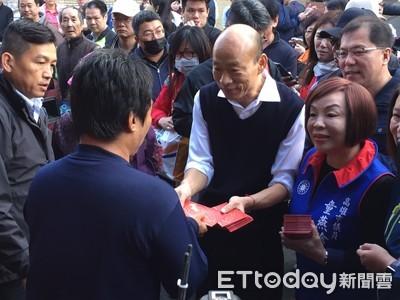 台灣民意基金會/72%不期待韓國瑜2024再戰總統
