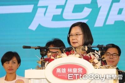 蔡英文勝選捧陳菊:「打不倒的人」