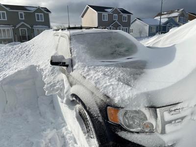紐芬蘭兩天降雪80公分破紀錄