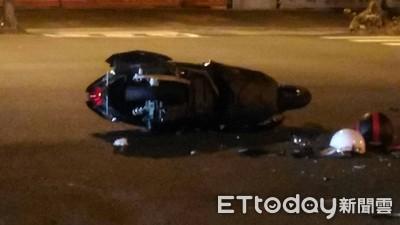 台南廂型車左轉碰撞機車!輾過19歲騎士釀1死1重傷