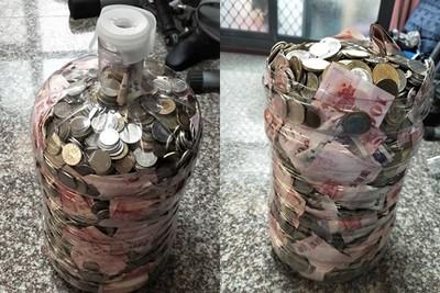 最狂儲水桶存錢「爽領6位數年終」