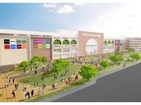 台南最大!三井OUTLET落腳高鐵站旁 2022年開幕
