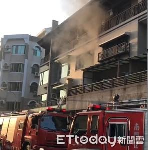 9歲女童機警沈著 架梯救家人脫火場