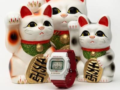 G-SHOCK招財貓錶助攻好運