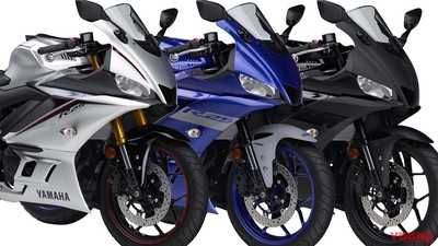 繼承MotoGP賽車設計!YAMAHA新年式YZF-R3/R25消光銀登場