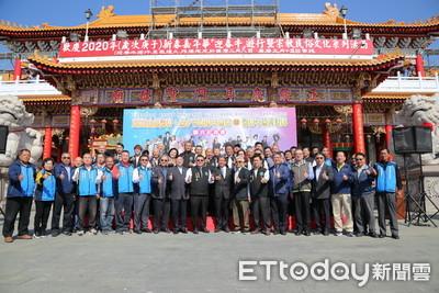 台南市議會邀民眾到聖母廟逗熱鬧