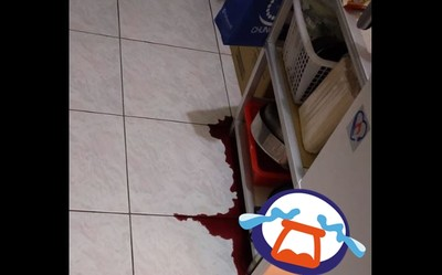 半夜曬衣服「冰箱滲出暗紅血」嚇歪