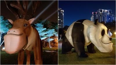 「戽斗星球」整隻放大!台灣三大燈會鼠年必訪 海市蜃樓美到不像話