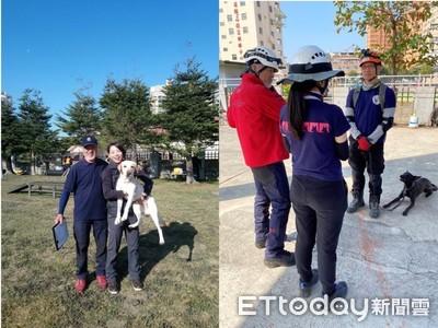 高市5搜救犬獲國際認證!浪浪「黑糖」也+1