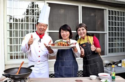 黃敏惠攜手五星飯店主廚做年菜