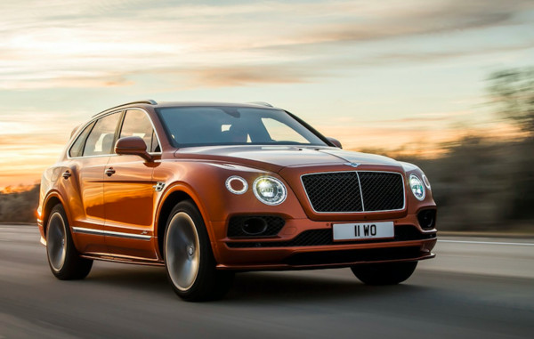 ▲賓利Bentayga Speed。(圖/翻攝自Bentley)