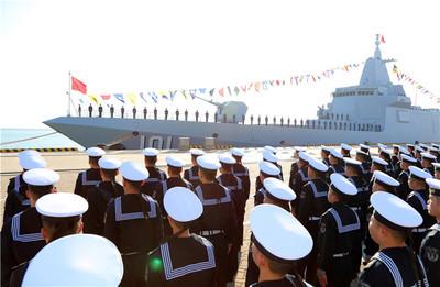 中國電推技術打趴美國 「055型驅逐艦」入列服役