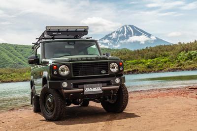 Jimny只能「變身賓士」制服改?試試日本高完整度Land Rover套件