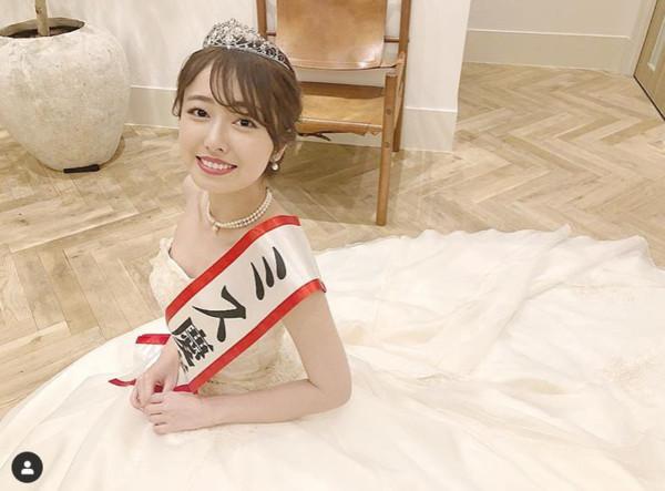 ▲▼2020日本小姐小田安珠。(圖/翻攝自小田安珠IG)