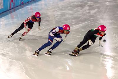廖韋丞冬青奧競速滑冰寫個人最佳