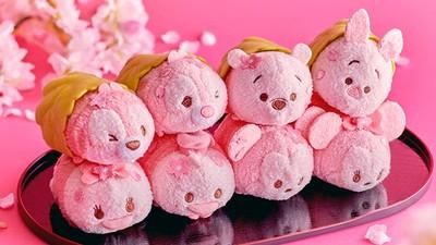 剁手也要買!迪士尼全粉色「櫻餅Tsum Tsum」 米奇尾巴長出櫻花瓣