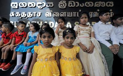斯里蘭卡1.4萬對雙胞胎擠爆體育館