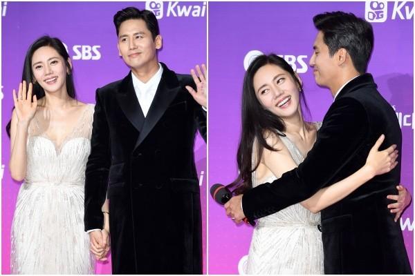 ▲南韓女星秋瓷炫與大陸男星于曉光2017年結婚,感情非常甜蜜。(圖/CFP)